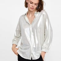 METALLIC SHIRTDETAILS