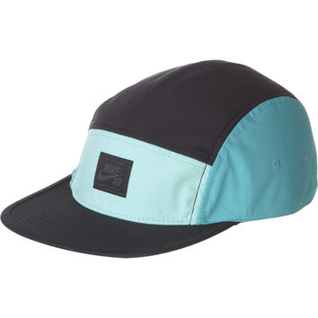 Nike SB 5-Panel Hat Black/Bleached Turquoise/Dusty Cactus, One