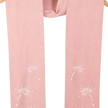 """Pale Pink - 72"""" Micro Suede Scarf"""