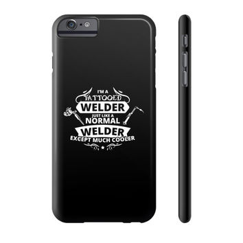Tattooed welder Phone Case
