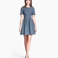 Jacquard-weave Dress - from H&M
