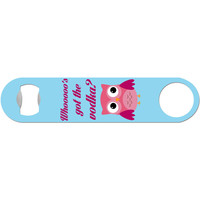 Who's Got The Vodka? - Owl Bottle Opener