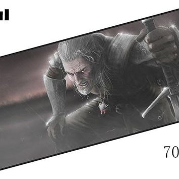 witcher padmouse 700x300x4mm pad to mouse large notbook computer mousepad thick gaming mouse pad gamer to laptop mouse mats
