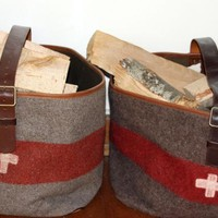 Wood Log Bag – Swiss Army Blanket: Remodelista
