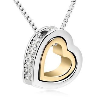 Heart Gold Chains Women Necklaces for Women Fashion Jewelry Bridal Jewelry