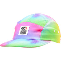 Girl Tie Dye Camper 5 Panel Hat at Zumiez : PDP