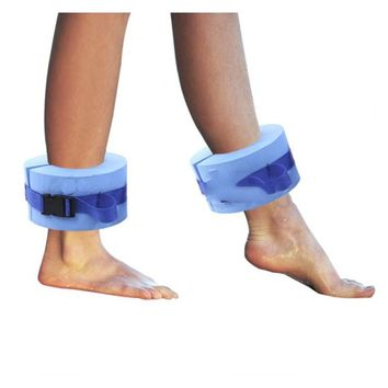 One Pair Swim Discs Foam Swimming Float Ring Water Swimming Weights Aquatic Cuffs for Ankle Arm Wrist