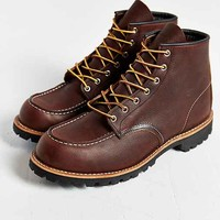 Roughneck Moc Toe Boot- Chocolate