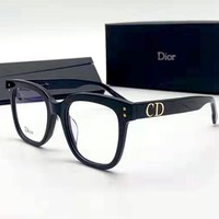 Free shipping-Dior personality retro box sunglasses