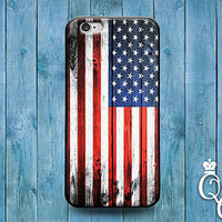 Cool Wood American USA Flag Cute Case iPod Cover iPhone 4th of July America Fun