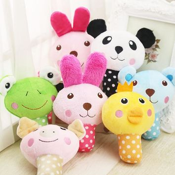 Cute Squeaking Plush Animal Dog Toy & Puppy Toy