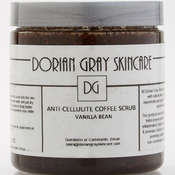 Anti-Cellulite Coffee Scrub: Sweet Lavender, Spirited Spearmint, Country Orange Spice or Sweet Vanilla Bean
