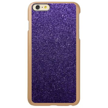 Cool Awesome Purple Glitter Incipio Feather® Shine iPhone 6 Plus Case