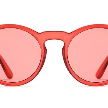 Quay - Kosha Comeback Red Sunglasses / Red Lenses