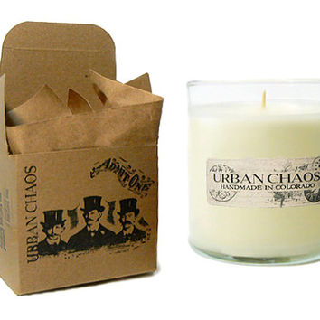 Vanilla Candle 11oz - Soy Candles - Handmade Candles  - Unique Gifts for Her - Hand Poured Soy Candles by Urban Chaos