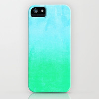 Blue Hawaiian iPhone & iPod Case by Monika Strigel