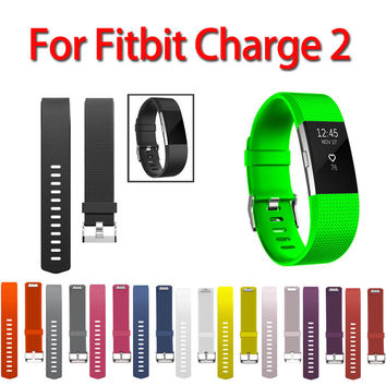 Sport Watch Strap Bracelet For Fitbit Charge 2