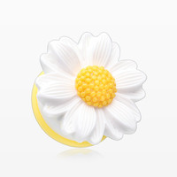 A Pair of Cutesy Daisy Flower Ear Gauge Plug
