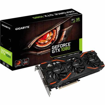 Gigabyte GeForce GTX 1080 Windforce OC 8G 256-Bit GDDR5X Garphics Card
