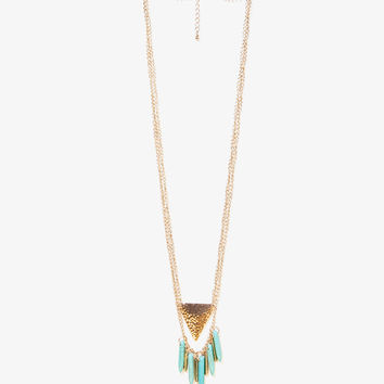 Layered Fringe Necklace