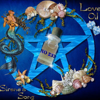 No233 Song of the siren Oil, greek ancient magic attraction gay lesbian pagan wiccan relationship Hoodoo Voodoo Witchcraft witch Sex Magic