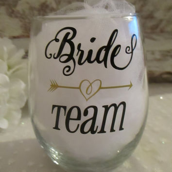 best bridal party wine glasses products on wanelo