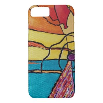 Abstract Art Apple Phone Cover