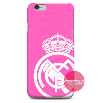Real Madrid Football Club Pink Jersey Adidas iPhone Case 3, 4, 5, 6, 6s, 6 Plus Case Cover