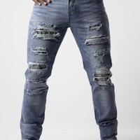 Ripped jeans mens Slash by Waiquiri - DIFFERIO