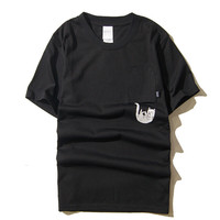 Short Sleeve Cotton T-shirts [10176382727]