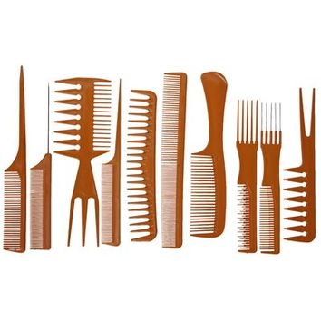Silk Elements Ten Piece Styling Comb Kit
