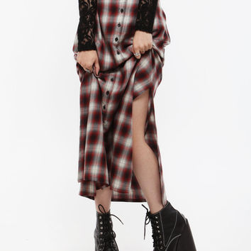 Wasteland Skirts - ShopWasteland.com - UNIF Nevermind Plaid Skirt