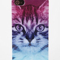 cute/funny ombre cat iphone case.