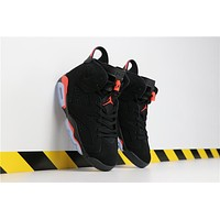 "2019 Air Jordan 6 ""Black Infrared"" 384664-060"