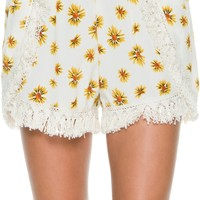 SWELL LITTLE MISS FRINGE SHORTS