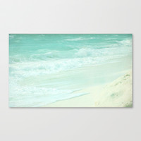 OCEAN Stretched Canvas by SUNLIGHT STUDIOS  Monika Strigel