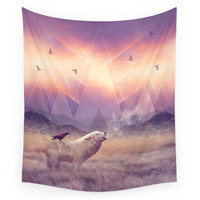 Society6 In Search Of Solace Wall Tapestry