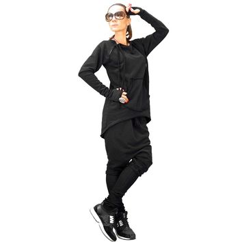 Free Style Blank Sweatsuit with Big Pocket