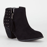 Dollhouse Mayday Womens Boots Black  In Sizes