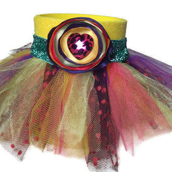 Tutu Glitter Koozie in Yellow with by AffordableAdorableKC on Etsy