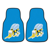 US Navy Armed Forces 2-Piece Printed Carpet Car Mats (18x27)