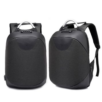 Current Package Backpack Fashion Wild Storage Computer Bag Coded Lock Wear-Resistant Unisex Outdoor