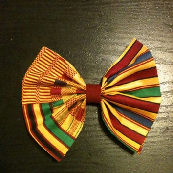 African/Ethnic Hair Bow from Nicole Ray