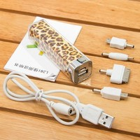 Elivebuy 2500mah Power Charger Battery Bank for Iphone 5/5s; 4/4s and Camera, Various Cell Phones and Digital Devices (Apple Adapters NOT Included)