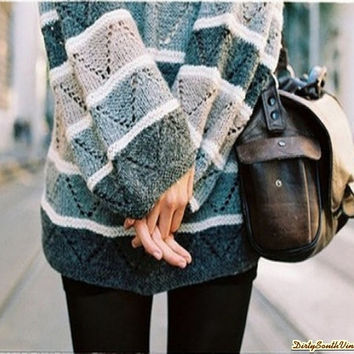 Mystery Hipster Outfit:Purse & Mystery Sweater-All Sizes