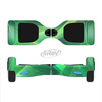 The Shiny Vector Green Crystals Full-Body Skin Set for the Smart Drifting SuperCharged iiRov HoverBoard