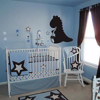 Baby Dragon Nursery Room Decor Wall Art Sticker Decal Ar90