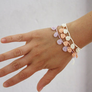 Three stacking bracelets - Stackable jewelry