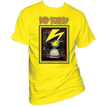 Bad Brains Capitol Yellow T-Shirt