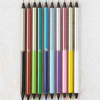 Double-Sided Metallic Colored Pencils Set